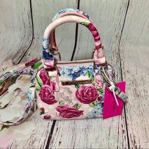 Betsey Johnson Floral Crossbody Elegant Mini Bag